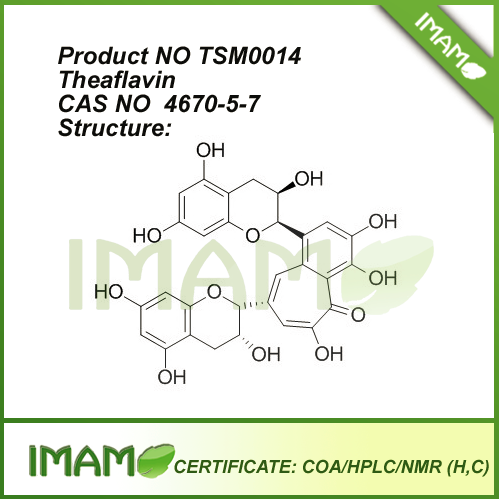 TSM0014 Theaflavin 4670-5-7 By HPLC 98%