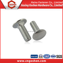 Stainless steel 304 Flat head Carriage bolt