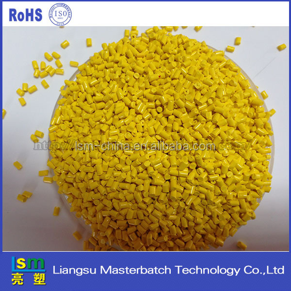 pp resin yellow color masterbatch