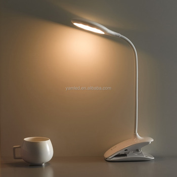 Bright in colour desk lamp led elegant design with clip lamp light