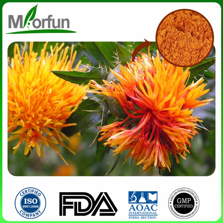 Factory Supplier safflower red powder carthamin saffron extract safflower color for wholesale