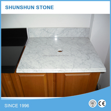 White Artificial Quartz Stone Countertop for Kitchen and Bathroom