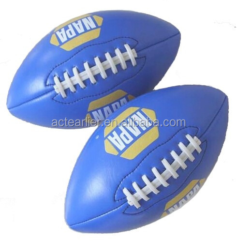 custom match size 5 vintage leather rugby ball
