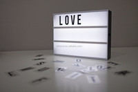 Numbers and letters Led Light Box
