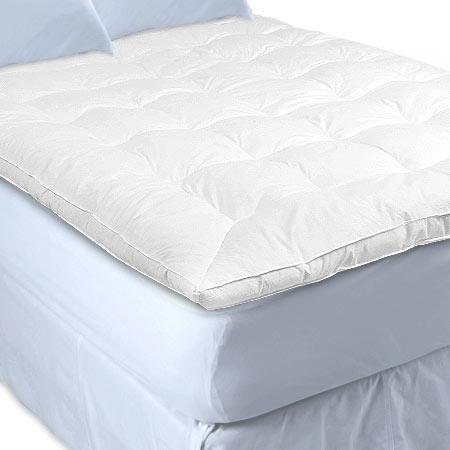 feather and down bed mattress cover topper queen bed With down feather bed cover
