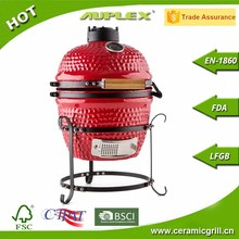 Christmas Gift Promotion Kamado Grill Ceramic BBQ Grill Charcoal Chimney Grill