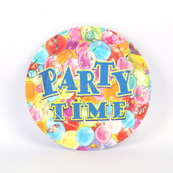 high quality custom paper plate for party and decor
