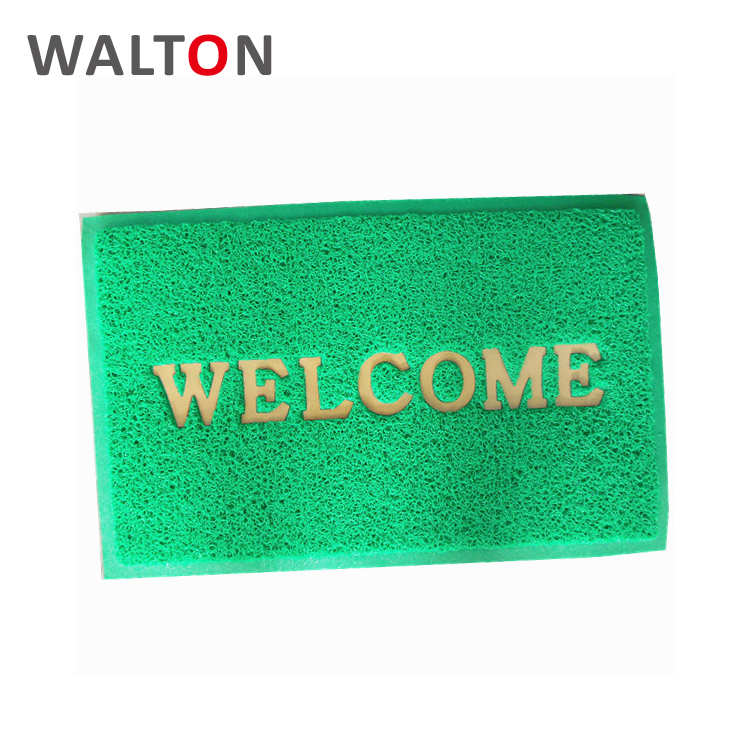 Anti-Slip New design pvc custom outdoor welcome mats for front door