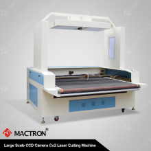 MT-1680DA Auto Feeding Roll to Roll Laser Cutting Machine For Trademark/Brand/Logo/Label/Applique Cutting With CCD Camera