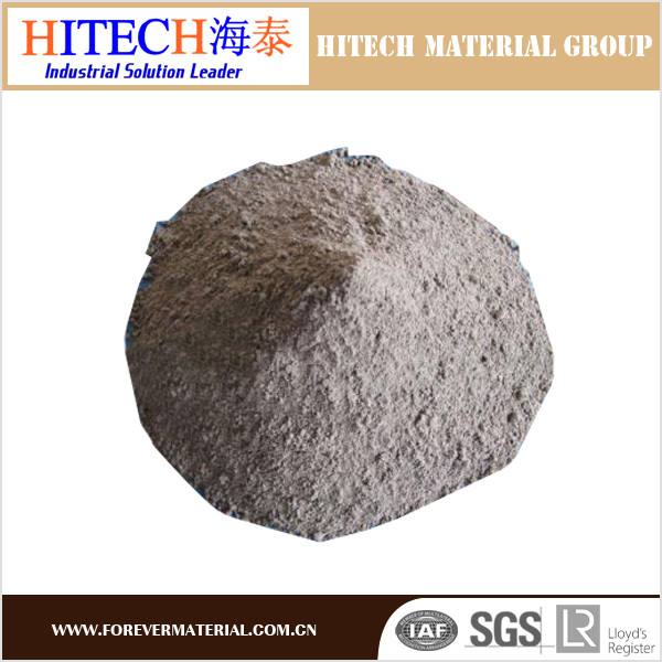 ZiBo Hitech high quality castable refractory heat resistance high alumina cement with good density