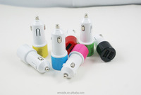 Top Quality Portable Universal Dual USB Car Charger Adapter USB Socket 2 Port Car Charger 2A For iPhone