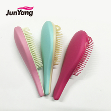 2017 new wholesale products small rubberized plastic goody hair brush