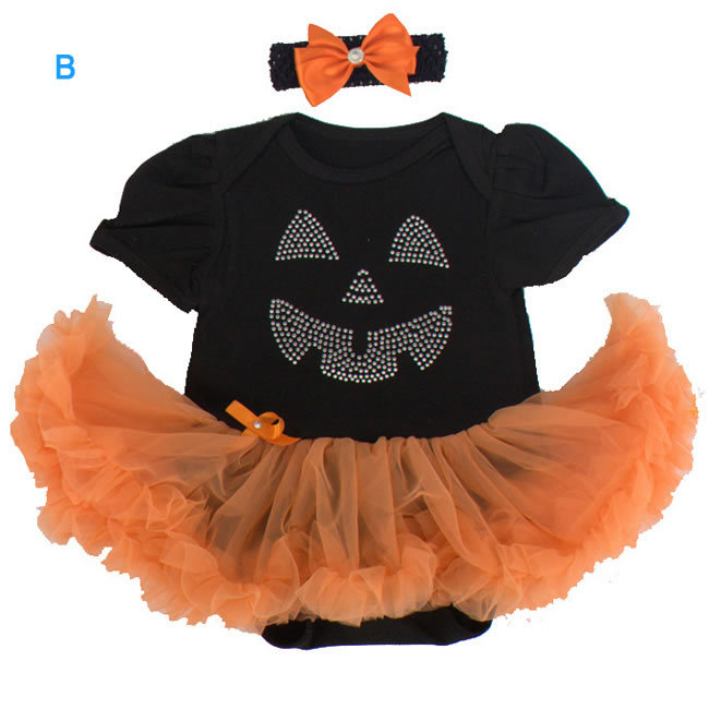 christmas halloween costume for baby girls lace tutu romper clothes batman kids onesiebow headbands