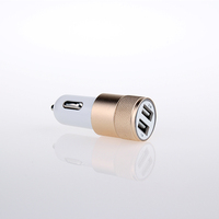 universal mobile phone car charger dual usb port charger for car
