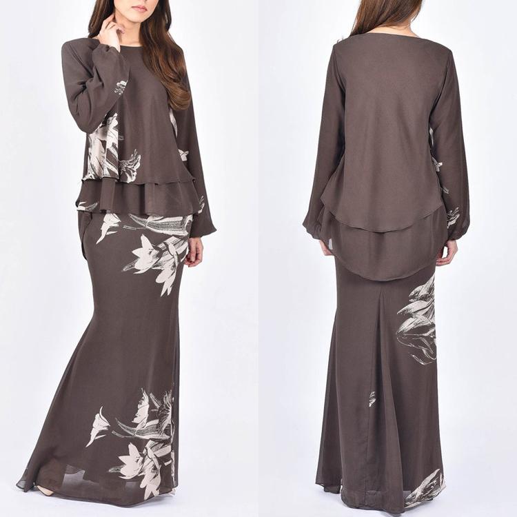 Buy Wholesale baju kurung modern laides fashion latest deisgn ...