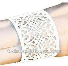Lace Paper Napkin Rings Holders for Wedding Party