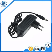 CE FCC ROHS ISO approved 12v 2a power adapter with 5.5*2.5mm connector