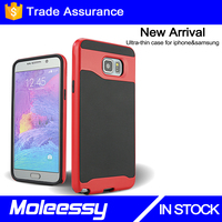 New Hybrid Case for Samsung Galaxy Note 5 Hard PC + TPU Case Logo Customized Printing