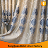 European luxury jacquard embroidery living room window curtain