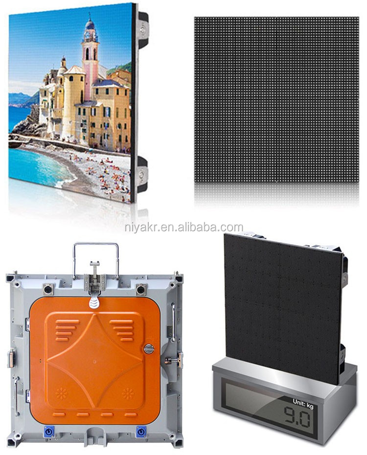 IP65 rental p4 outdoor led screen
