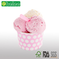 Disposable ice cream serving bowl serving paper ice cream cups