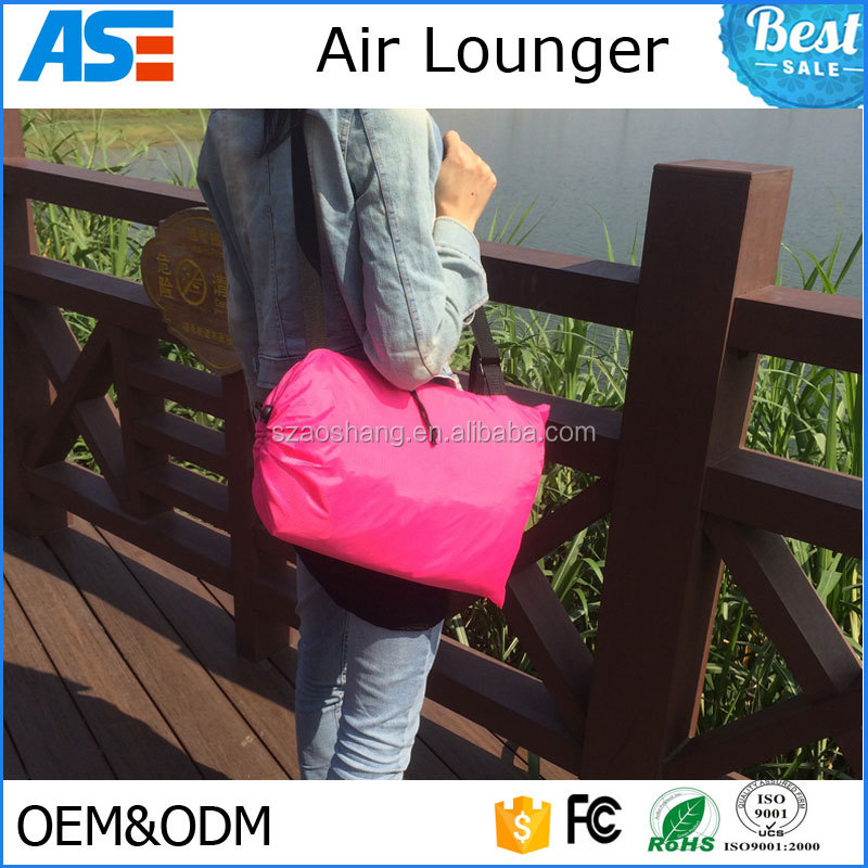 Newest Convenient Inflatable Outdoor/Indoor Lounger Air beach bed original laybag lazy bag sofa
