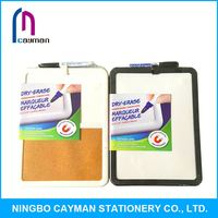 Environmental protection material whiteboard with roller