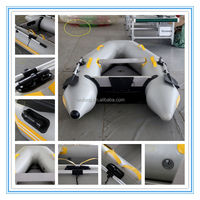China Factory High Quality 230 Semi-rigid Inflatable Boat With PVC Tube,pvc fabric for inflatable boat
