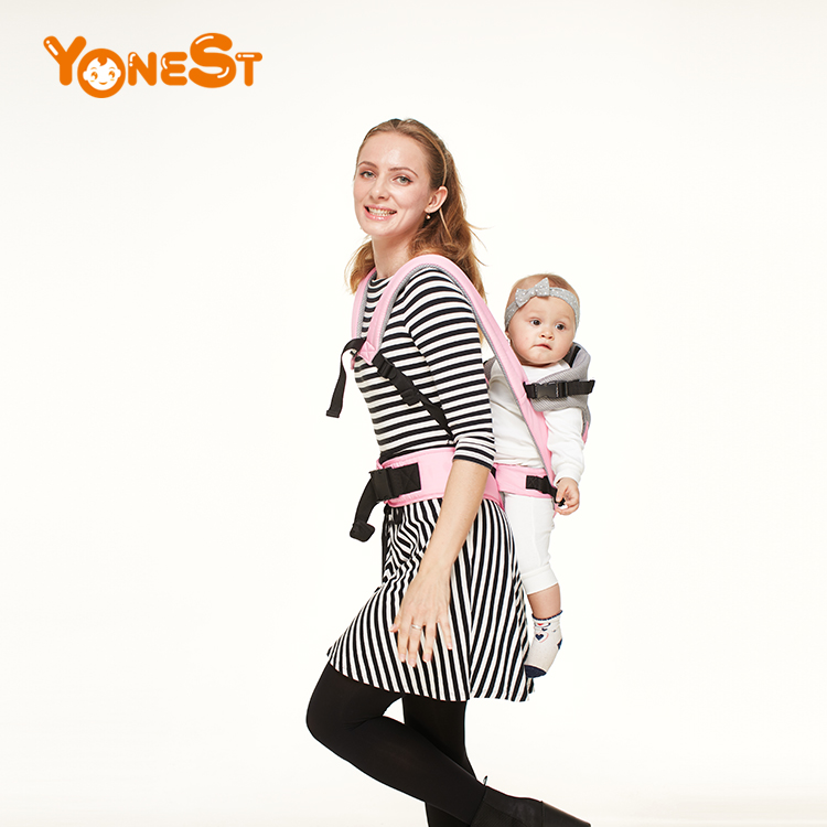 New Style Designer 3 in 1 Baby Hip Seat Original Baby Carrier- Soft Structured, Ergonomic Sling Mesh Cooling Vent and Pocket