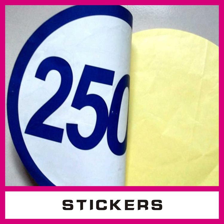 Cheap vinyl stickers custom printed with adhesive plastic for Sticker miroir adhesif