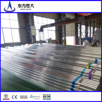 Hot promotion!!! round iron pipe prices, galvanized round pipe supplier