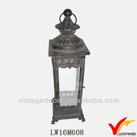 Antique moroccan stylish cheap lantern in metal