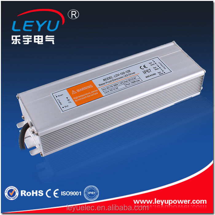 150W Constant Current 24V LED Driver Power