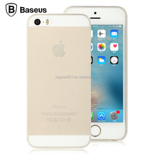 2016 Newest Original Baseus Slim Series Ultra Thin Frosted Hard PP Back Case Cover For iPhone 5 5S SE