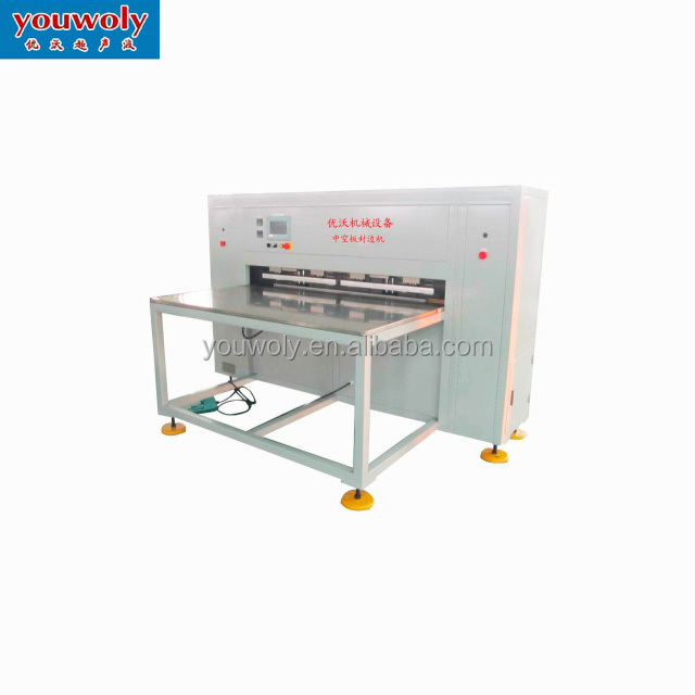 Plastic Sheet Seam Welding Machine Plastic For PP Hollow Sheet