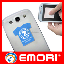 Custom Stylish Colorful Sticky Mobile Phone Sticky Screen Cleaner