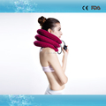 CE approved air neck traction device soft neck traction for Neck pain relief