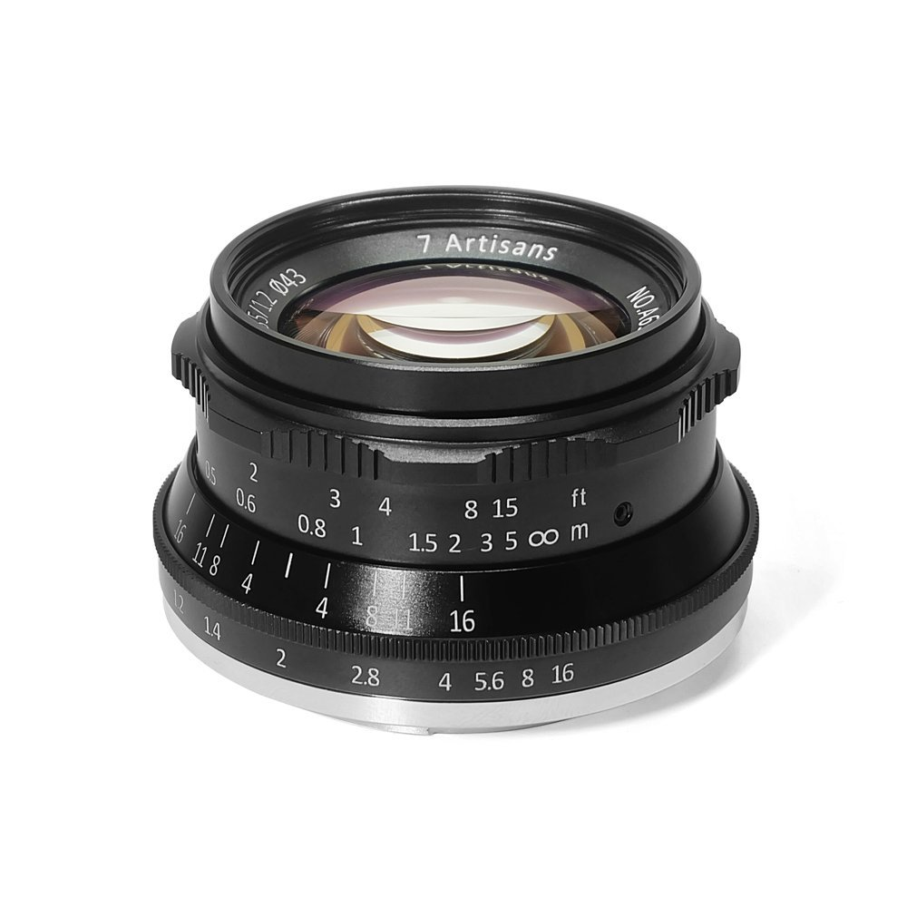 7artisans 35mm F1.2 Camera Lens For Canon Sony Fujifilm Of EOS-M Mount