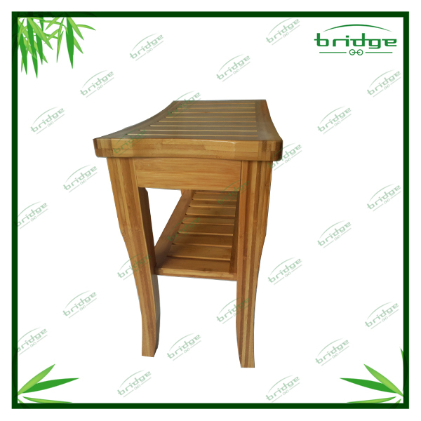 bamboo wooenbench / natural bamboo shower