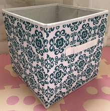 printing fabric storage cube canvas collapsible storage box