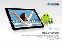 Ampe A10 3G Version 10.1 inch IPS Touch Screen Android 4.0 Tablet PC 3G+Qualcomm 1.2GHz Dual Core+GPS+BT+WCDMA/GSM Phone Calling