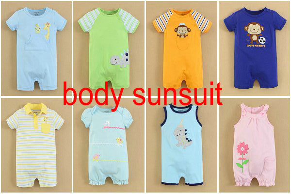 MOM&BAB 2015 Branded Baby Romper Set Customized Wholesale In-stock for Boys