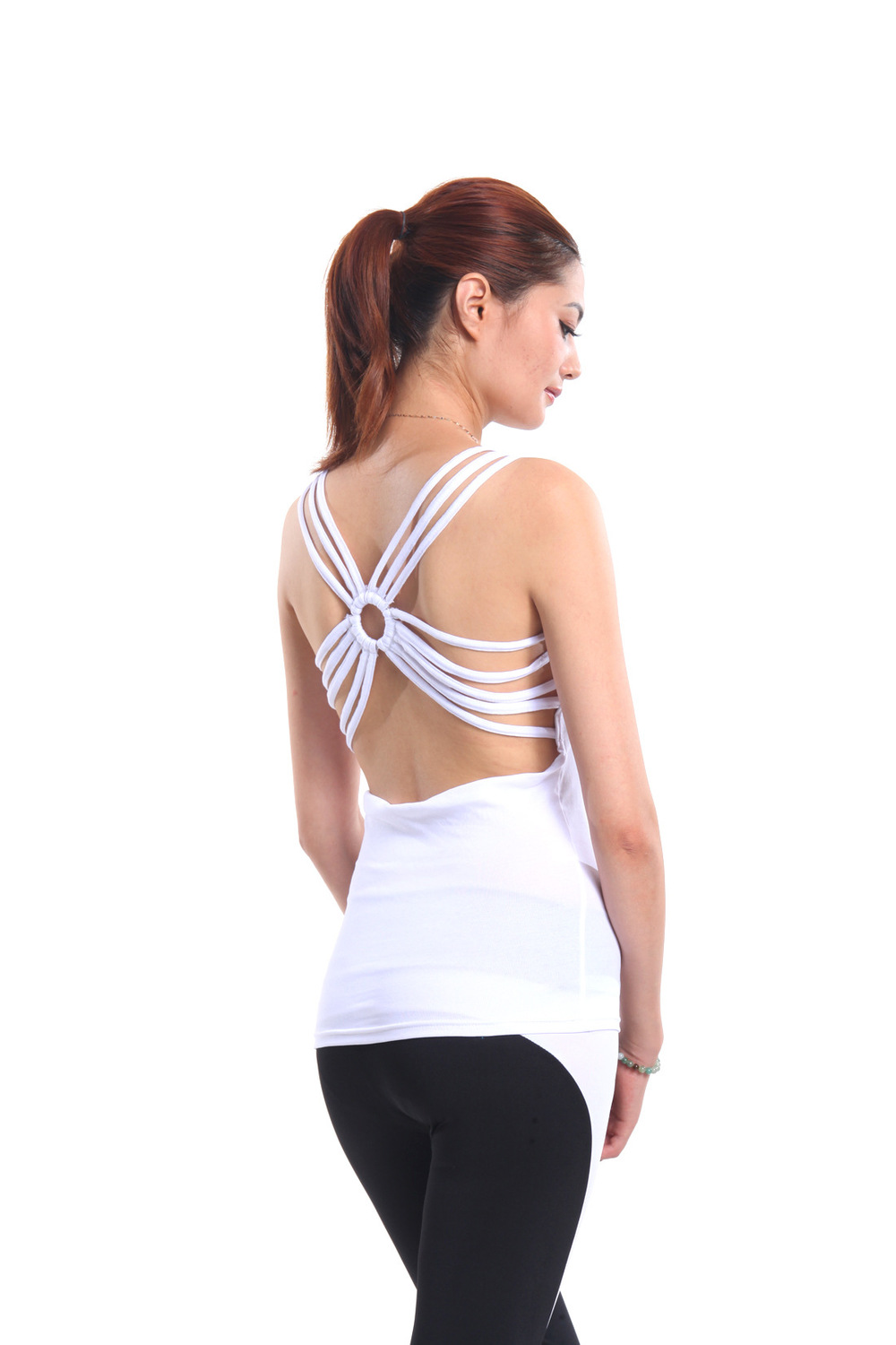 New Arrival Sexy Ladies Sports Gym Vest Yoga Wear
