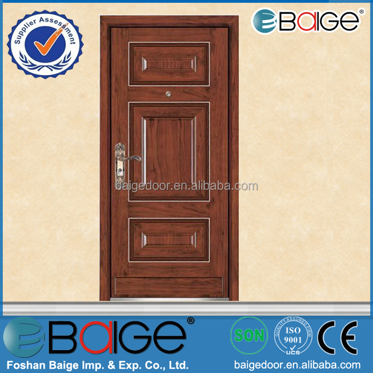 BG-A9032 Pooja room metal accordion ventilated entry doors