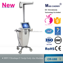 Non-surgical 36000shots each handle sculptshape hifu body slimming machine