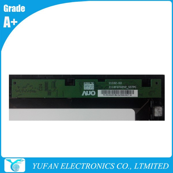 18200892 B116XAT02.0 Laptop LCD Assembly For Yoga 11s