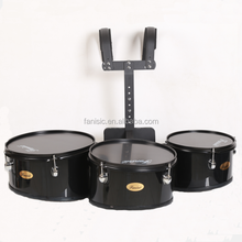 3 piece marching drums, marching drum set standard model, marching snare drum with carrier