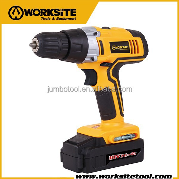 CD314 Worksite Brand 18V Ni-cd Battery variable Speed Cordless Dril