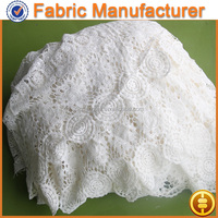 new arrival thick african french chemical lace fabric french chemical lace fabric