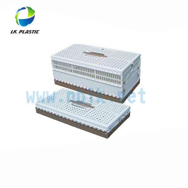 Plastic Heavy-duty Folding Transport Bird/Pigeon Cage/Crate/Carrier for travel-32x20x22 cm